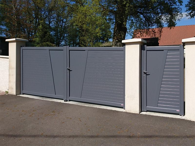 Portail aluminium Malinao Batiweb