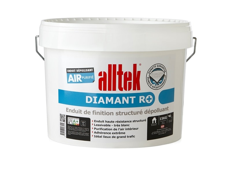 Alltek Diamant R+, enduit dépolluant prêt à l'emploi anti-formaldéhydes - Batiweb