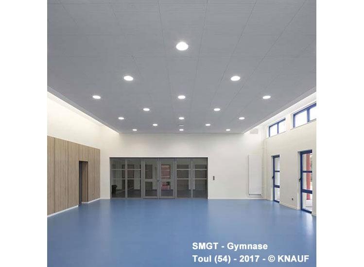 Dalle de plafond acoustique démontable Knauf Danoline - Unity 4 - Batiweb