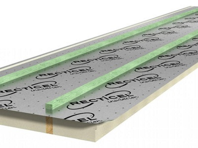 L-Ments® Isolation thermique des toitures inclinées – Panneau autoportant Batiweb
