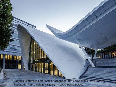 ALUCOBOND® COULEURS STANDARD UNIS ET MÉTALLIQUES - Panneaux composites Batiweb