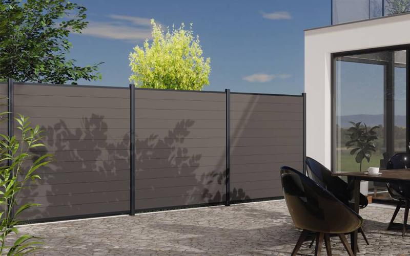 Horizen Prime : la nouvelle clôture composite facile à installer - Batiweb