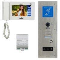 Kit vidéophone accessibilité, spécial ERP et IOP, grand angle 170° avec zoom & boucle magnétique Batiweb