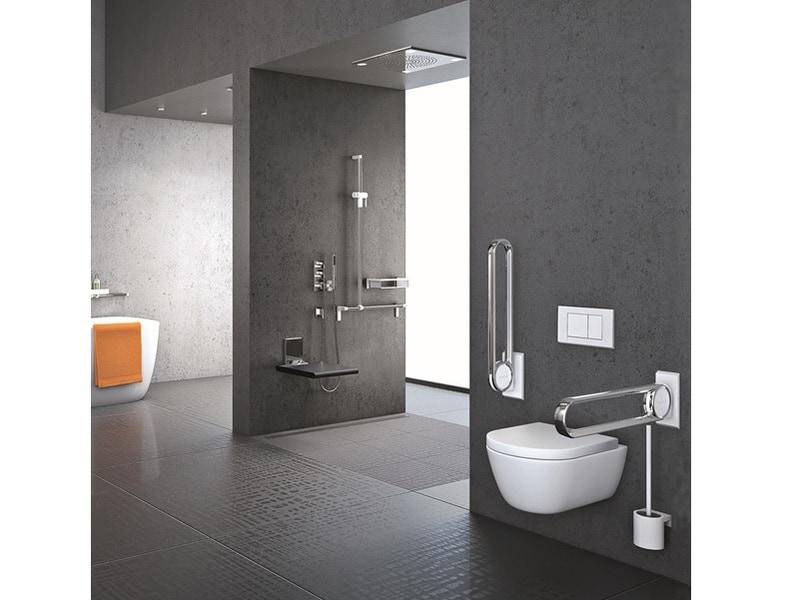 Cavere® Chrome ligne d'accessoires design pour salle de bains - Batiweb