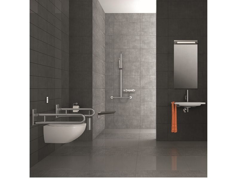 Inox Care ligne d'accessoires salle de bains robustes et classiques - Batiweb