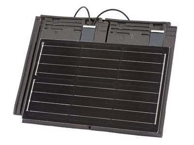 ALPHA Solaire, tuile à la technologie photovoltaïque. Batiweb
