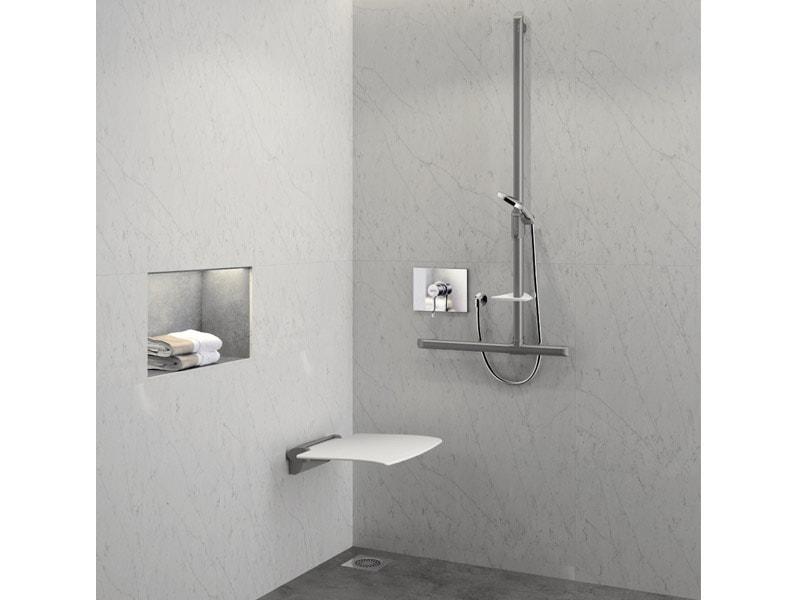 Barres de maintien et sièges de douche design Be-line®
