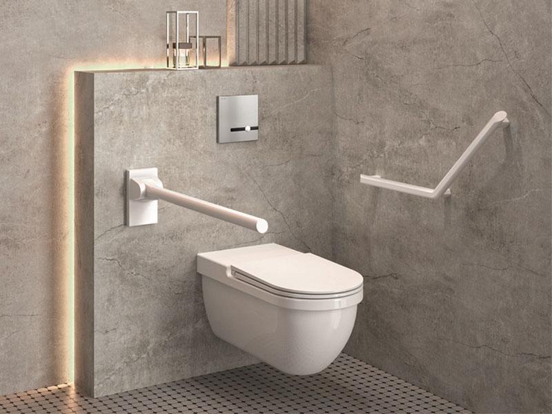 Barres de maintien et sièges de douche design Be-line® - Batiweb