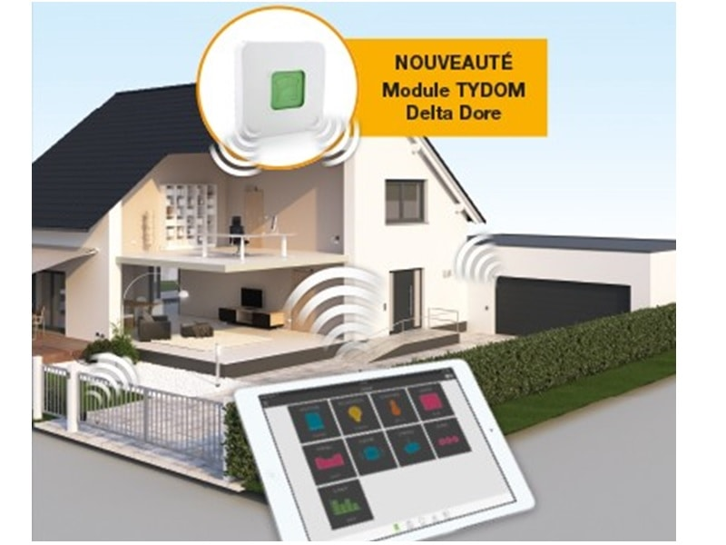 La maison connectée Hörmann en partenariat avec Delta Dore - Batiweb