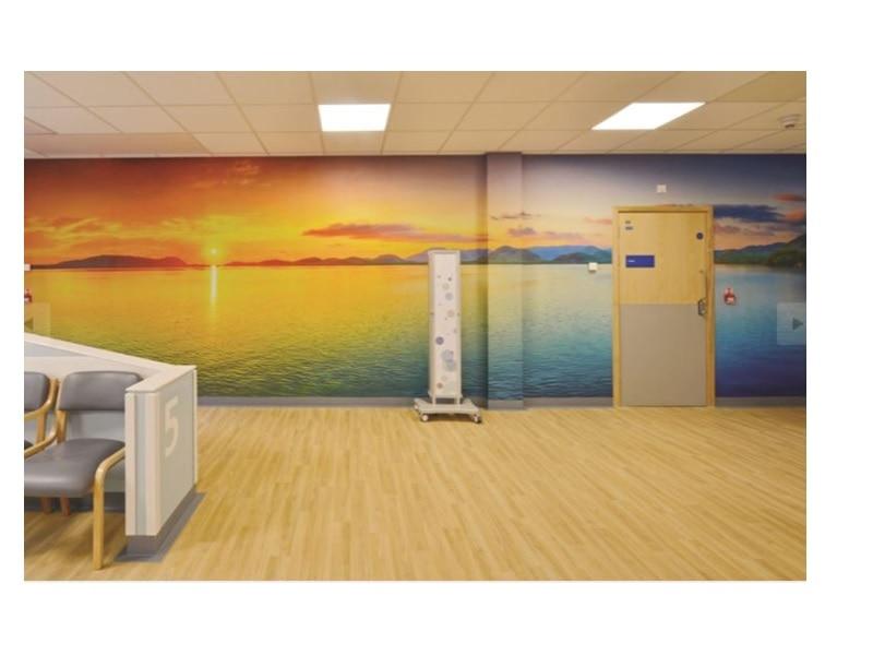 Panneaux de protection murale personnalisable : Acrovyn® by design