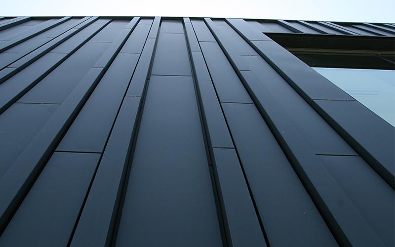elZinc Graphite, zinc prépatiné pour couvertures et façades - Batiweb