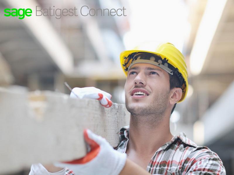 Sage Batigest Connect, la solution dédiée aux artisans et PME du bâtiment - Batiweb