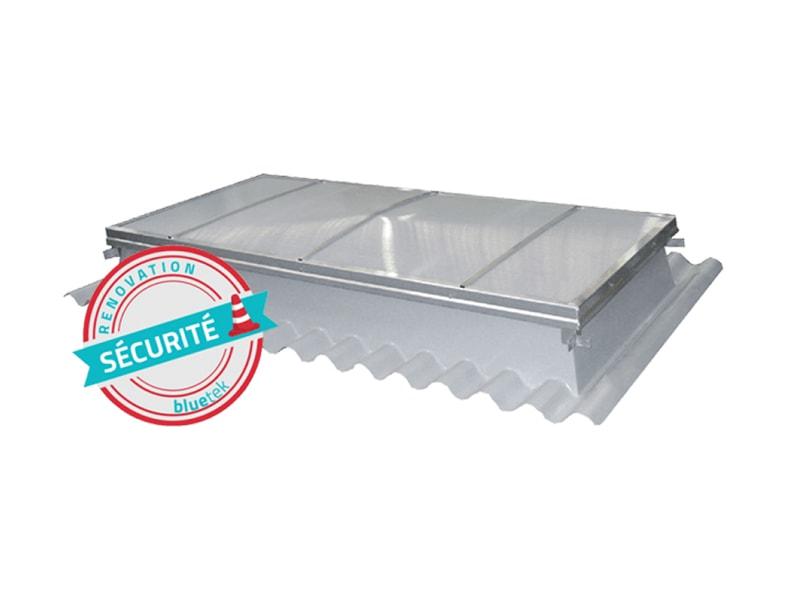 BLUEBAC Pneu Réno, gamme exutoires rénovation toiture sèche - Batiweb