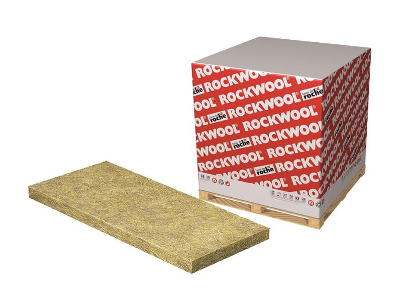 Rockfeu Coffrage, panneau isolant en laine de roche pour planchers en fond de coffrage - Batiweb