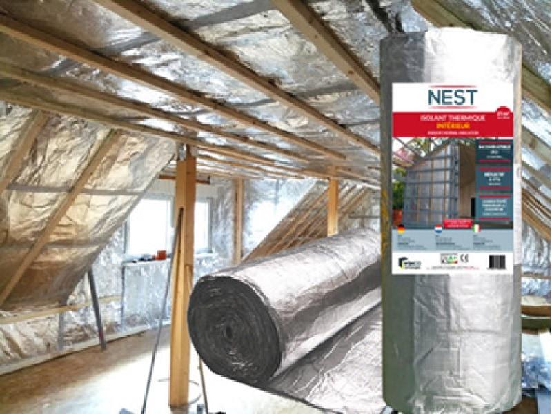 Isolant incombustible par l'intérieur NEST - Batiweb