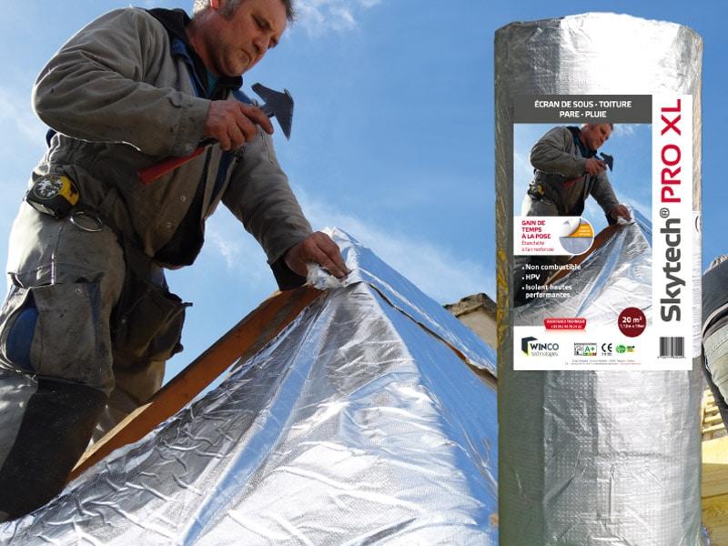 Isolant pour toitures et façades SKYTECH PRO XL - Batiweb