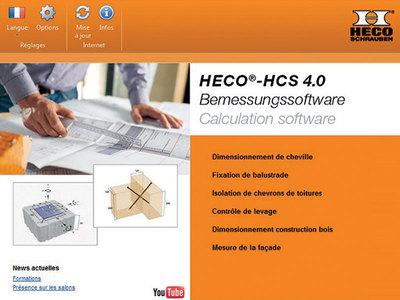 Logiciel HCS 4.0 Batiweb