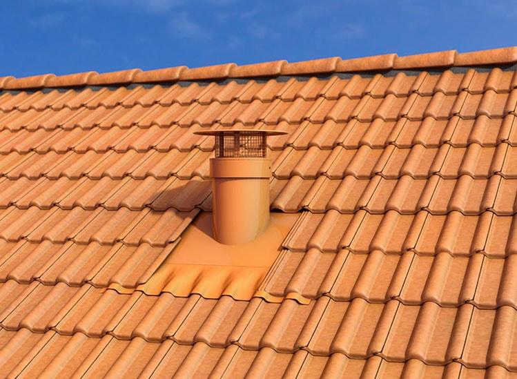 VENTÉLIA, Sortie de toit ventilation haute performance