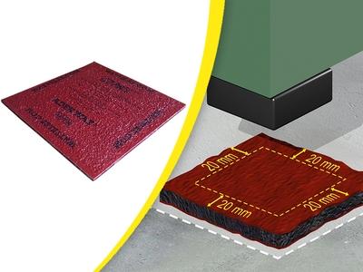 SUPPORTS ANTI-VIBRATOIRES GRIPSOL® Batiweb