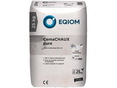 Chaux hydrolique CemaCHAUX Pure Batiweb