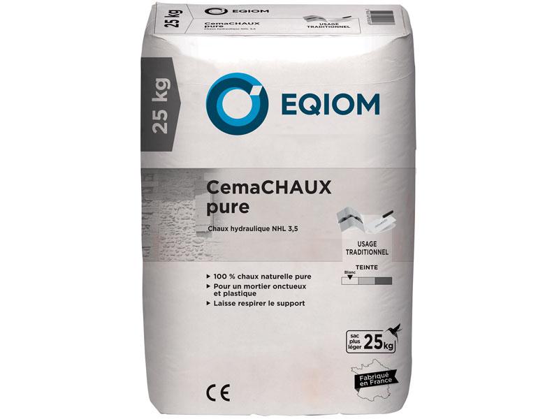 Chaux hydrolique CemaCHAUX Pure - Batiweb