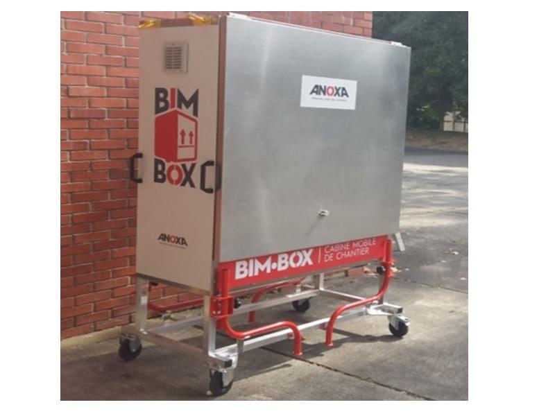 BIM BOX, cabine mobile de chantier - Batiweb