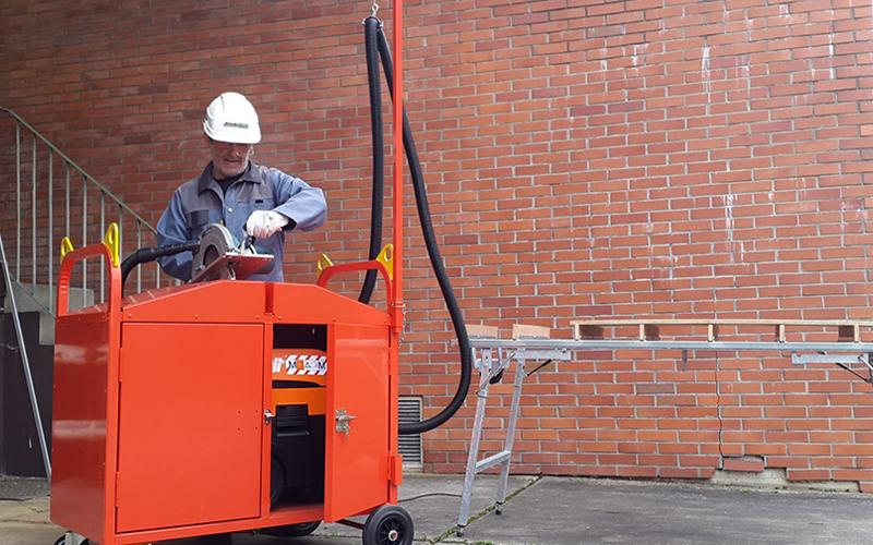 Chariot aspirateur - Batiweb