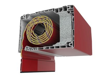 Le coffre de volet roulant intégré (intérieur) Batiweb