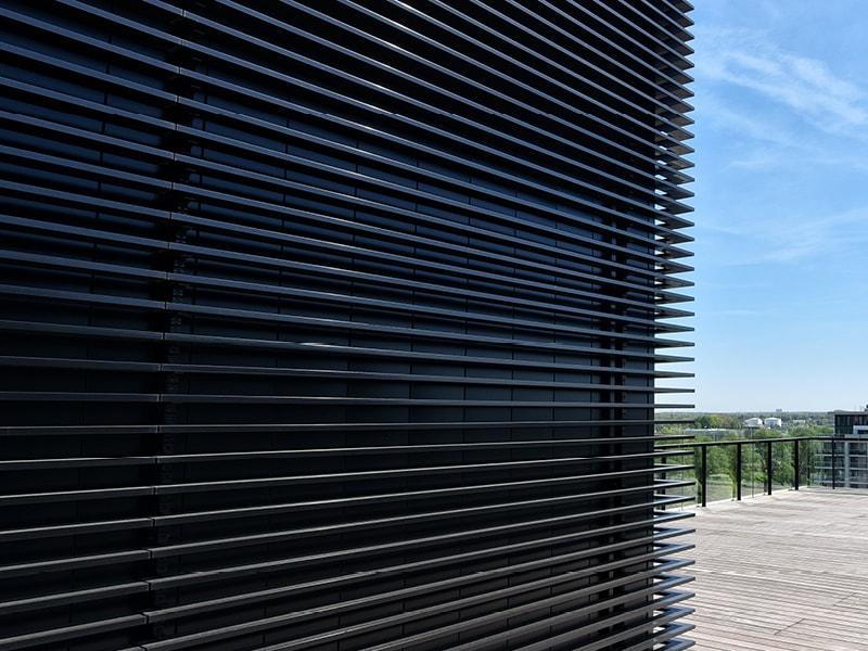 DucoSun Cubic - Brise-soleil architectural