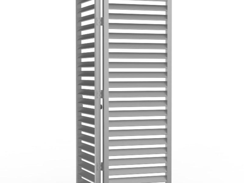 DucoSlide BiFold - Brise-soleil à panneaux pliants
