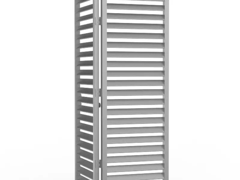 DucoSlide LuxFrame XXL - Brise-soleil à panneaux coulissants - Batiweb