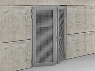 DucoDoor Grille - Ventilation intensive Batiweb