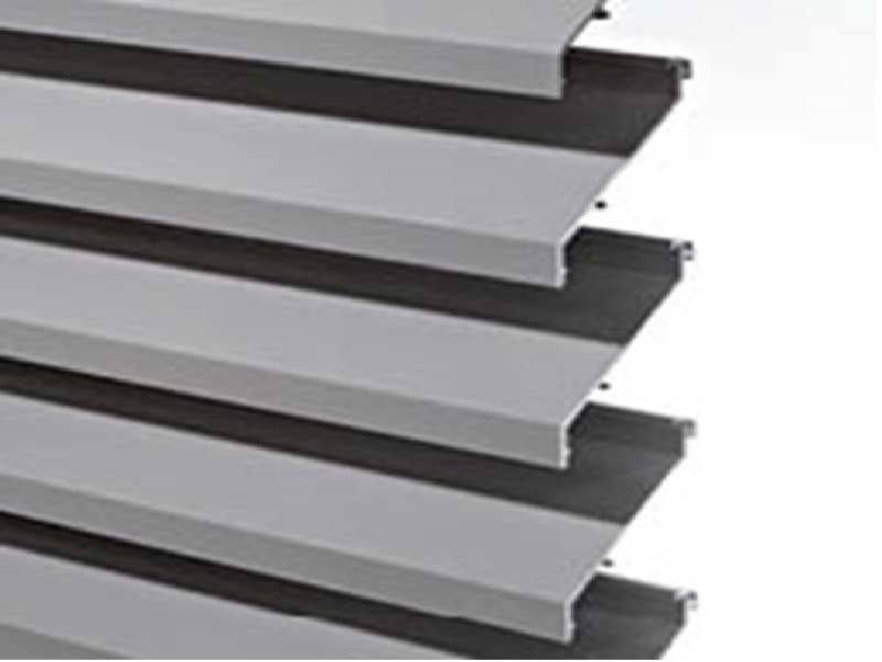DucoWall Classic - Ventilation intensive  ou cloisons à lamelles - Batiweb