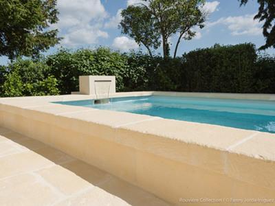 Margelle de piscine en U Batiweb