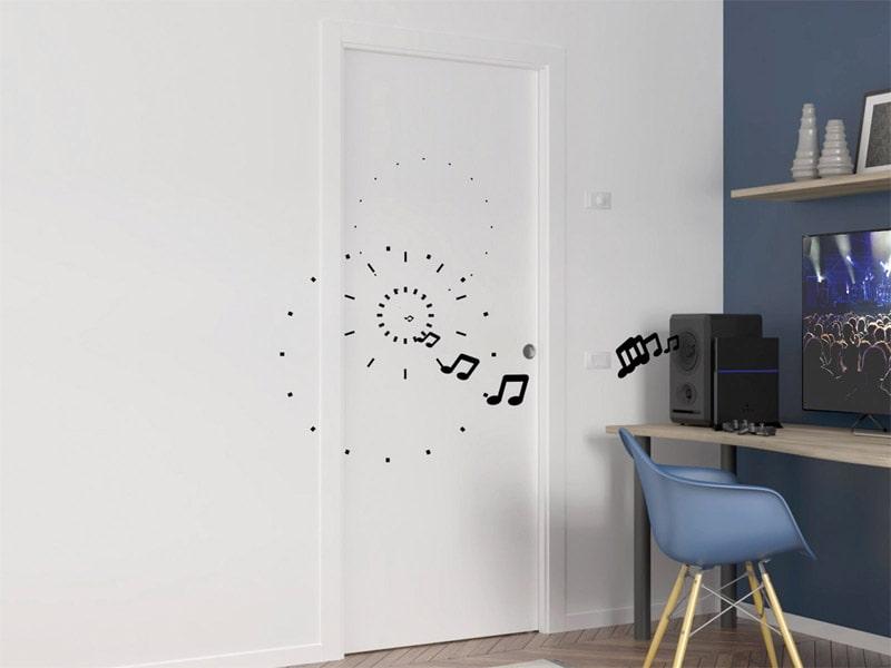 Kit complet pour coulissante acoustique Unique 43 dB