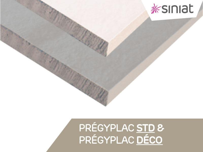 SINIAT - PRÉGYPLAC / PRÉGYDÉCO - Batiweb