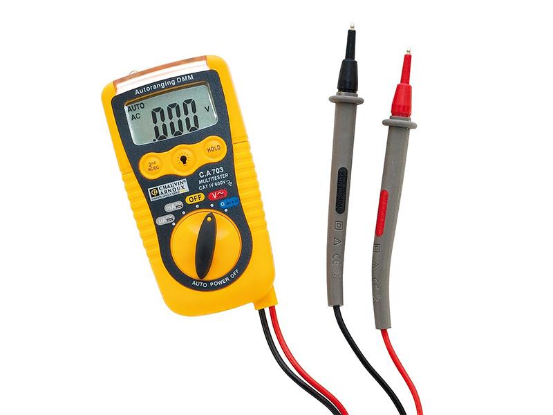 Multimètre numérique C.A 703 - Batiweb