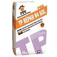 PRB TP REPAR R4 SOL, Mortier fin rapide coulable  pour la récupération  structurelle des bétons