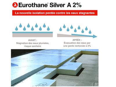 L'isolant penté Eurothane® Silver A 2 % contre la prolifération des moustiques en toitures-terrasses Batiweb