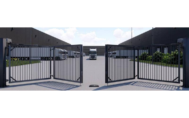 Faldivia : le portail pliable motorisé à ouverture rapide - Batiweb