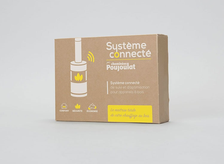 SYSTÈME CONNECTÉ - Suivre et optimiser le fonctionnement de son chauffage bois