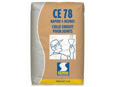 CE 78 4H : Enduit pour joints de plaques de plâtre Batiweb