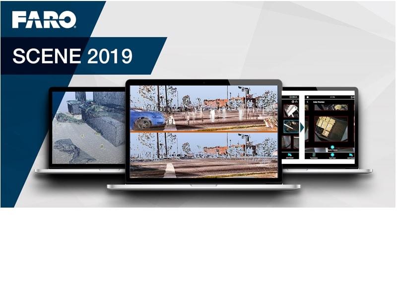 FARO® SCENE 2019, logiciel le plus intuitif pour le traitement et le recalage des données numériques