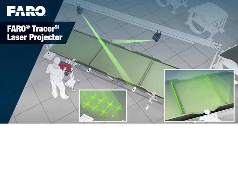 Le FARO® TracerSI, pour la conception graphique dans le cadre de projets BIM