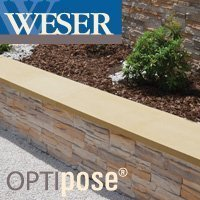 Chaperon OPTIPOSE® de 1 mètre plat WESER