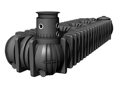 Cuves à enterrer extra-plates Platine XL-XXL de 10 000 à 65 000 litres Batiweb