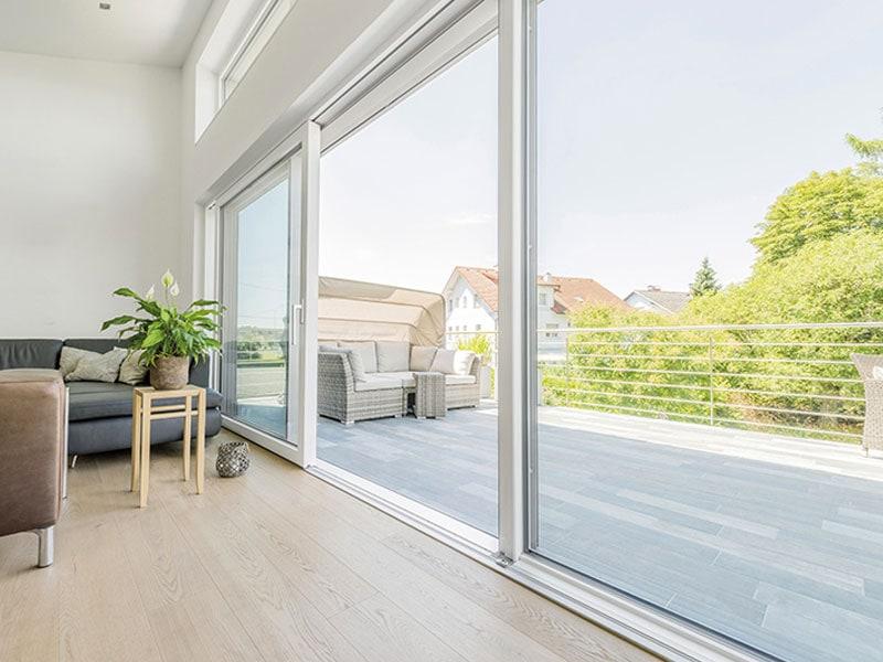 Portes-fenêtres coulissantes