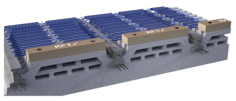 rupteurs thermiques pour planchers à poutrelles