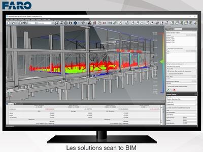 Les solutions scan to BIM de FARO – quand la réalité devient modèle Batiweb
