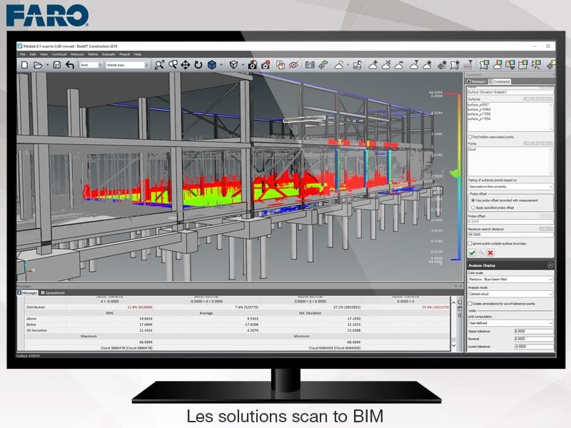 Les solutions scan to BIM de FARO – quand la réalité devient modèle